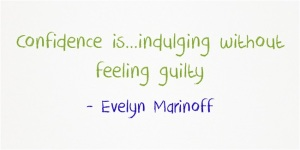 Confidence-isindulging