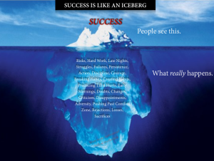 success-is-like-an-iceberg